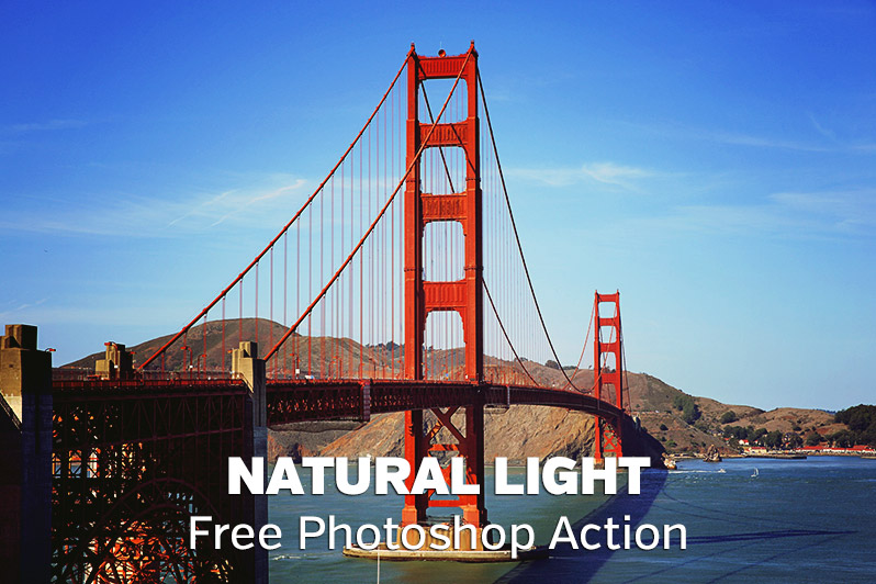 Free Natural Light Photoshop Action