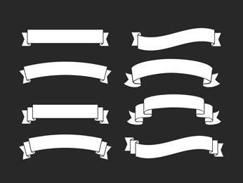Ribbon Shape Overlays