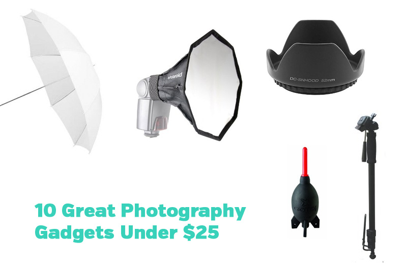 Great Photography Gadgets Under $25