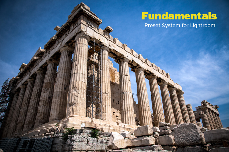 Fundamentals Preset System for Lightroom 4 and 5