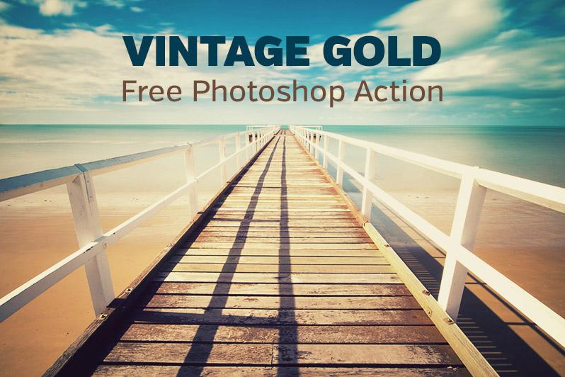 Free Vintage Photoshop Action