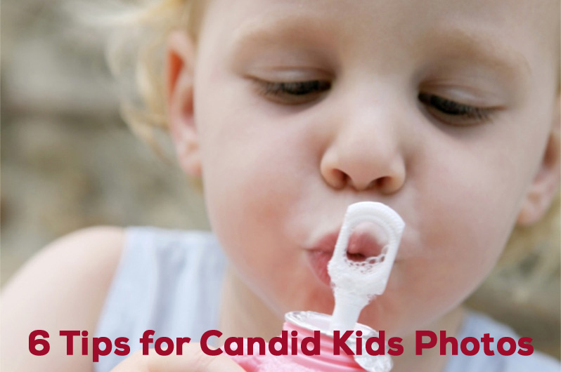 Candid Kids Photo Tips