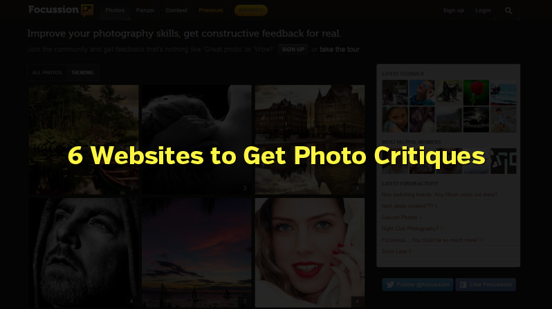 6 Websites to Get Photo Critiques