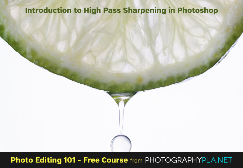 Introduction to High Pass Sharpening in Photoshop