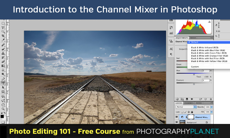 Introduction to the Channel Mixer in Photoshop