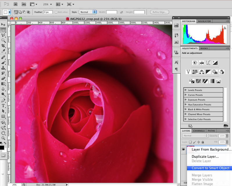 Introduction to Radial Blur in Photoshop