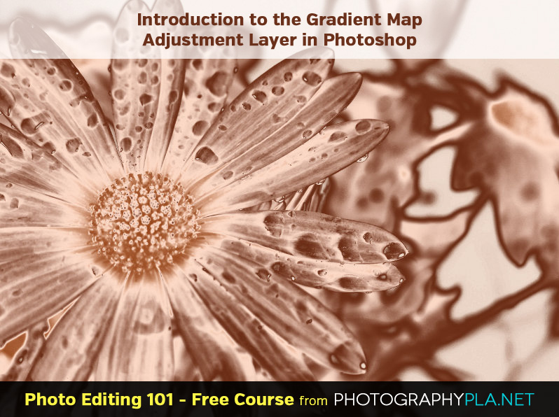 Introduction to the Gradient Map Adjustment Layer in Photoshop