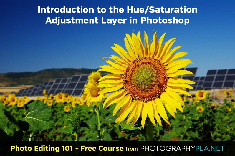 Introduction to the Hue/Saturation Adjustment Layer in Photoshop