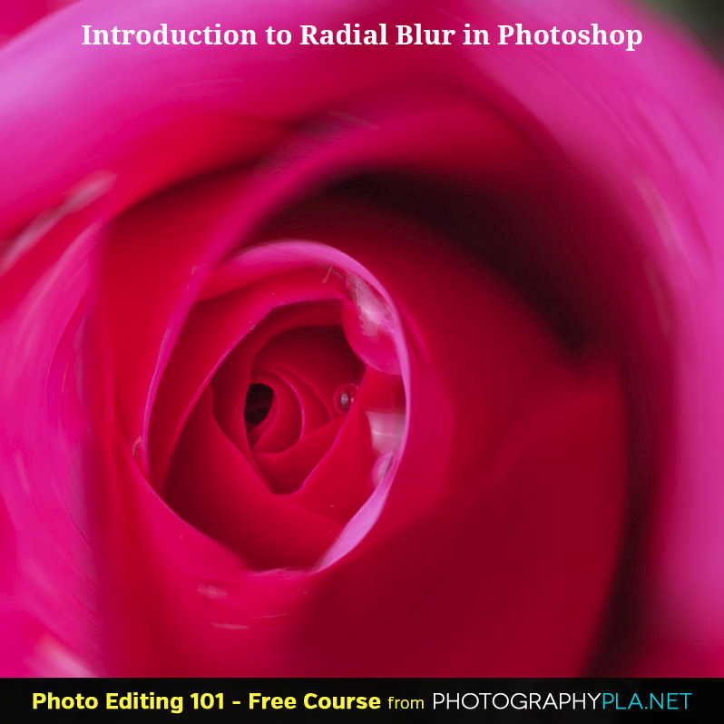 Introduction to the Radial Blur in Photoshop