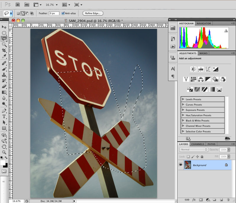 Introduction to the Lasso Tools in Photoshop