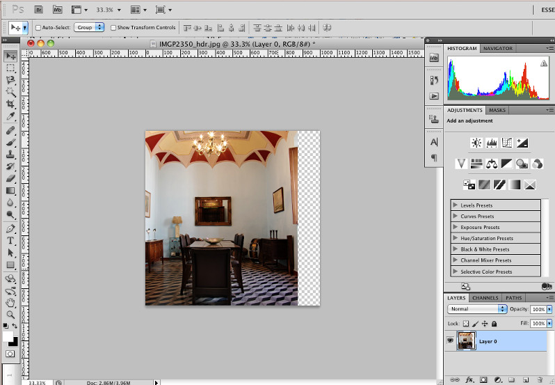 Introduction to the Crop Tool in Photoshop