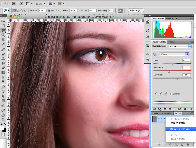 How to Enhance Eyes in Photoshop