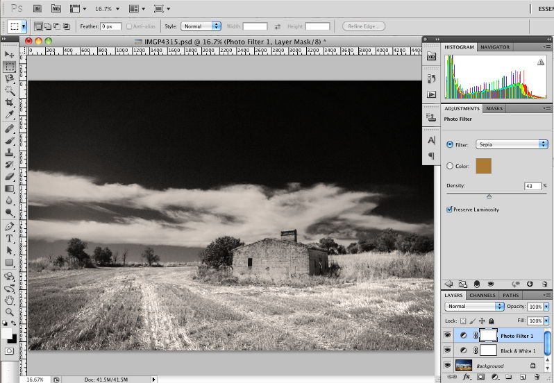 Introduction to Photo Filter Adjustment Layers in Photoshop