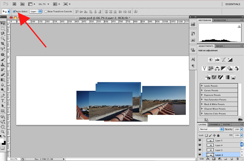 Introduction to the Move Tool in Photoshop