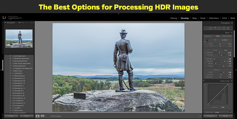 The Best Options for Processing HDR Images
