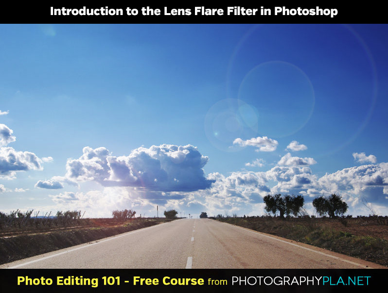 Introduction to the Lens Flare Filter in Photoshop