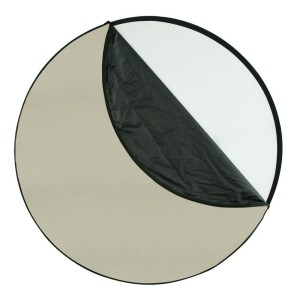 This 50 in reflector by Wescott is one of the most useful items you can have for shooting portraits outdoors.