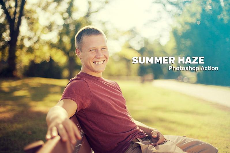 Summer Haze Photoshop Action
