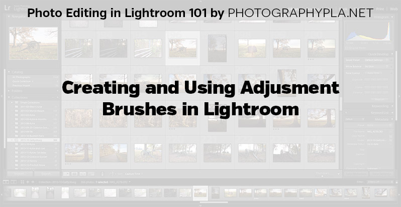 Creating and Using Adjusment Brushes in Lightroom