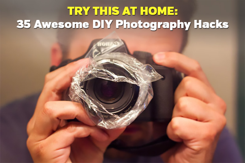 35 Awesome DIY Photography Hacks