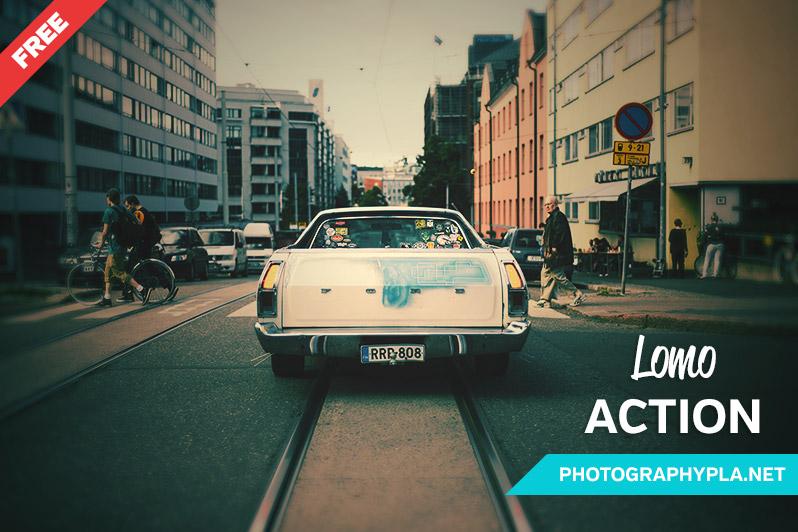 Free Lomo Photoshop Action