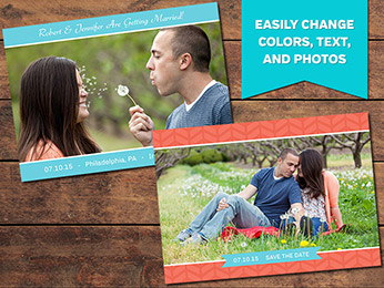 Delicious Save-the-Date Card Template