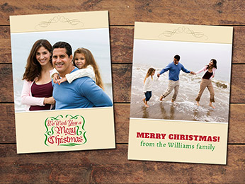 Basic Christmas Card Template