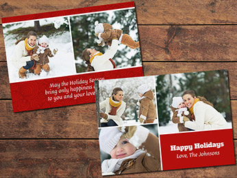 Cheerful Christmas Card Template