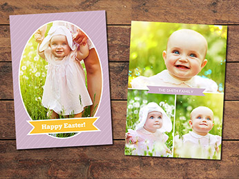 Egg Easter Card Template