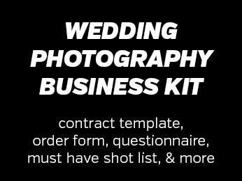 Wedding Photography Business Kit