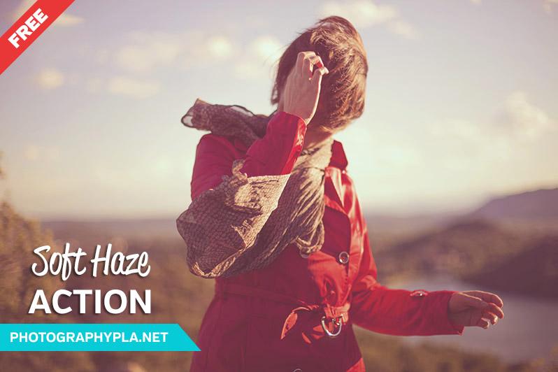 Free Soft Haze Photoshop Action