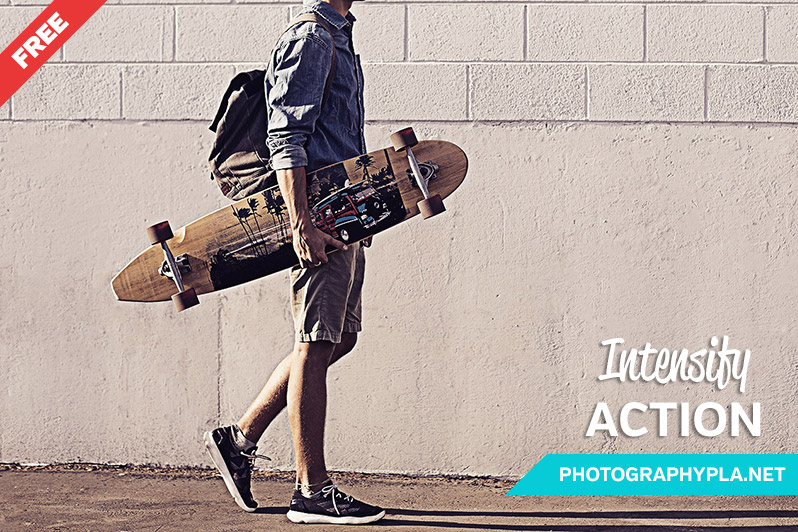 Free Intense Photoshop Action