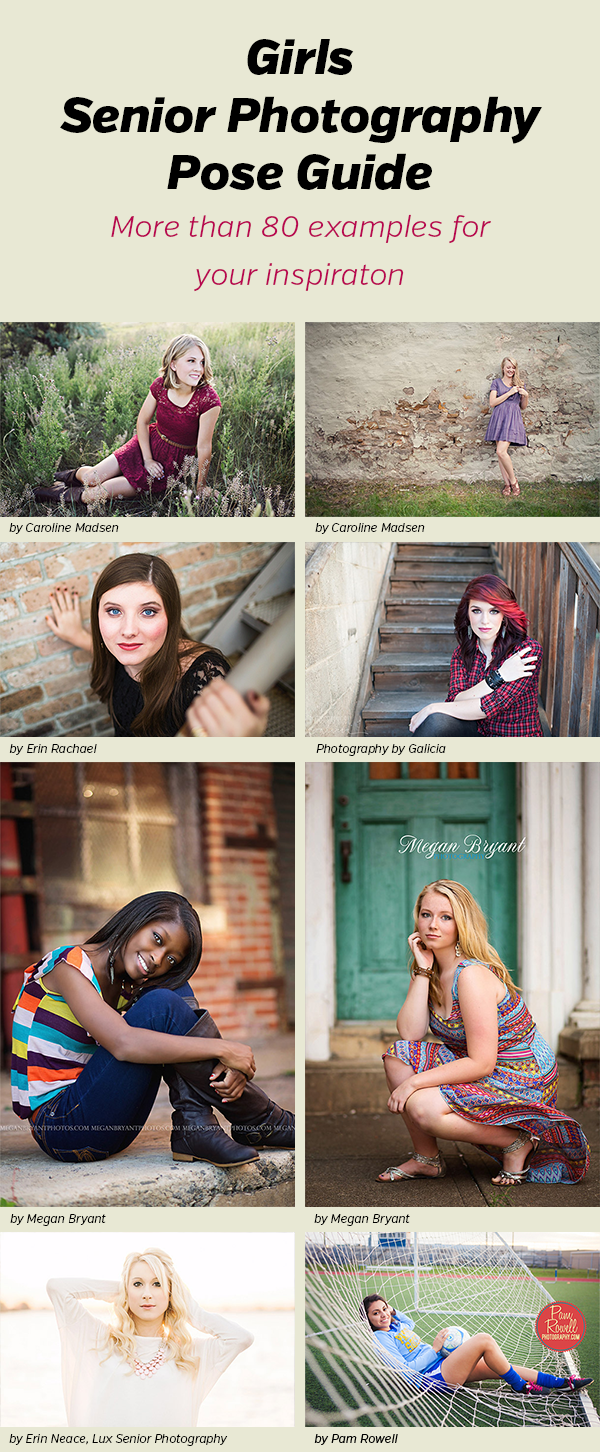 Senior Photography Poses for Girls