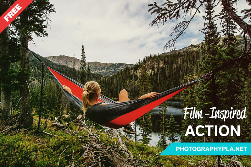 Free Film-Inspired Photoshop Action