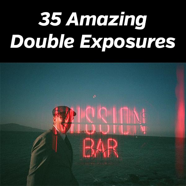 35 Amazing Double Exposures