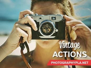 Vintage Signature Series Photoshop Actions