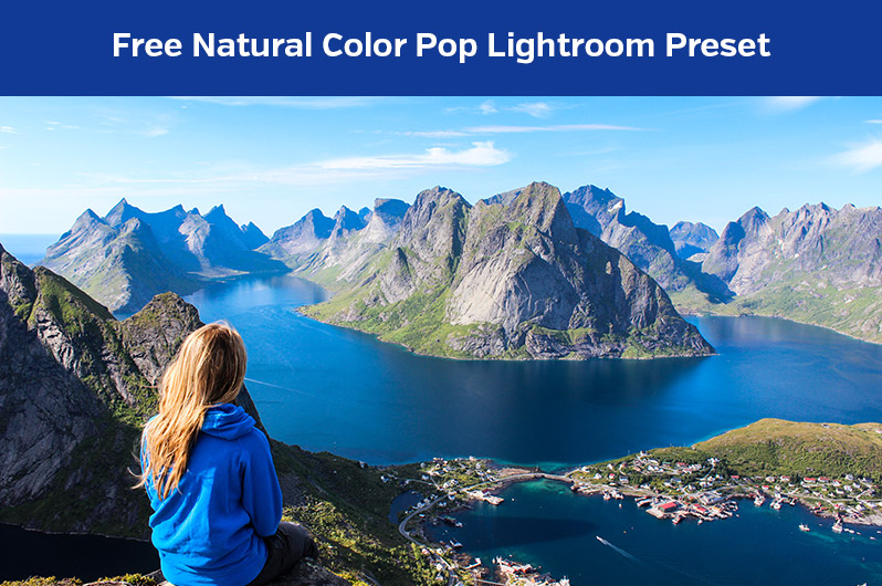 Free Natural Color Pop Lightroom Preset