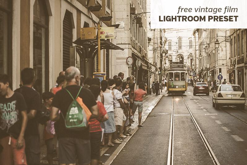 Blog Freebies Free Vintage Film Lightroom Preset
