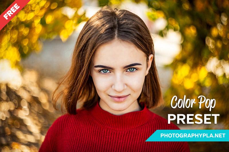 Free Natural Color Pop Lightroom Preset