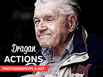 Dragan-Inspired Photoshop Actions