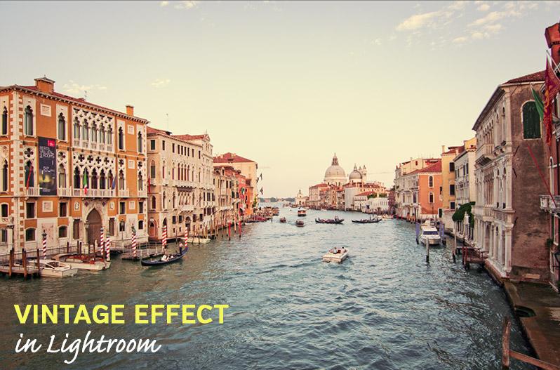Vintage Effect in Lightroom