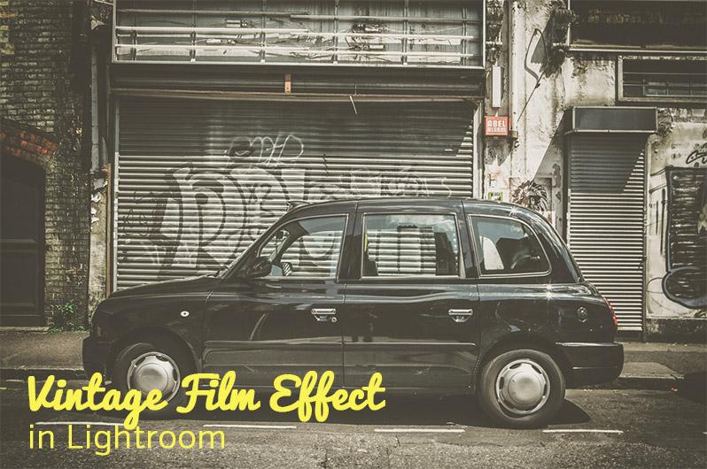 Film Effect in Lightroom