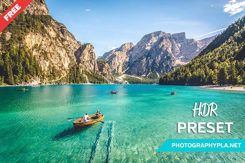 Free HDR Lightroom Preset