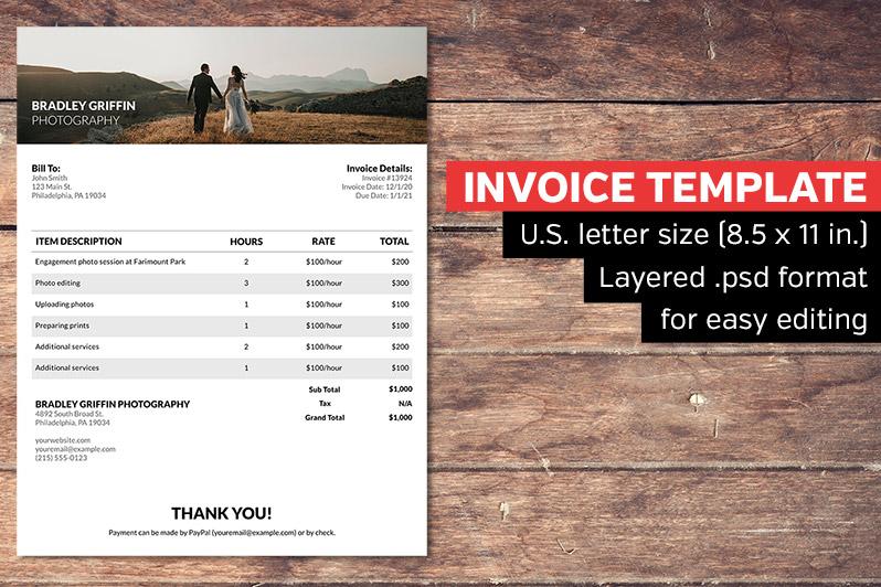 Elegant Invoice Template